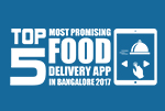 Top 5 Most Promising Food Delivery App in Bangalore 2017