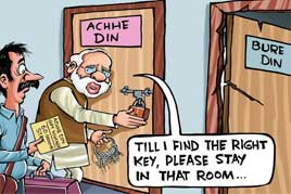 India, Indian and Aache Din