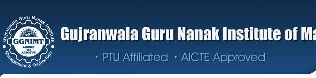 Gujranwala Guru Nanak Institute of Management & Technology (GGNIMT)