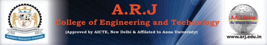 A.R.J. College Of Engineering & Technology , Chennai