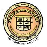 St. Joseph's College of Engineering  chennai