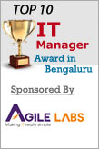 Top 10 IT manager award