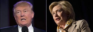 Trump Trails Clinton By 12 Points