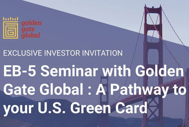 EB-5 Seminar with Golden Gate Global