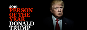 Trump is Time Magazine Person of the Yr