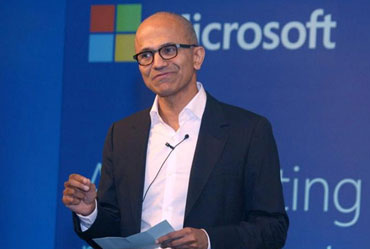 Microsoft CEO Satya Nadella to Visit India