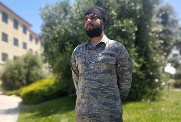 Indian Origin Sikh Allowed Turban in US Air Force