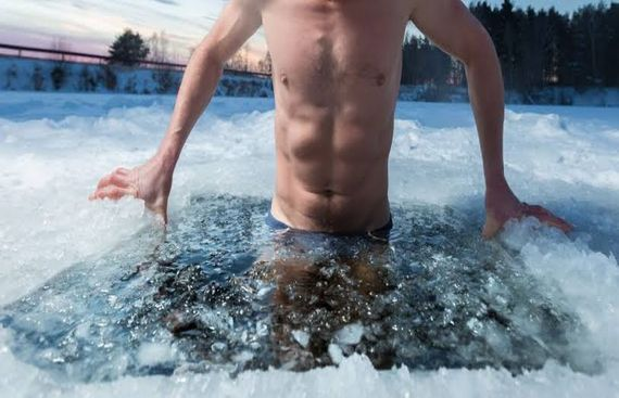 Ice Baths not Helpful for Repairing, Building Muscle