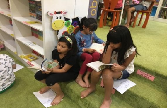 Bringing Children Back to Books, the One Up Way