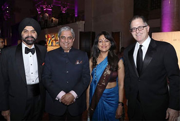 US-India Foundation honours Dell CEO, HDFC MD