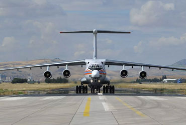 8th Plane carrying Russian S-400 Components