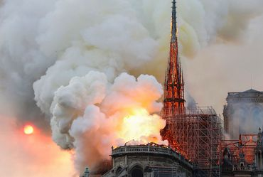 Millions pledged to rebuild Notre Dame