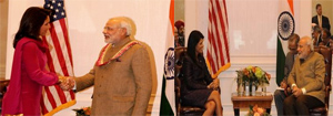 Modi Meets Two Emerging Women Leaders