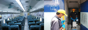 Now, You Can Send SMS to Get the Coach Cleaned on These Trains