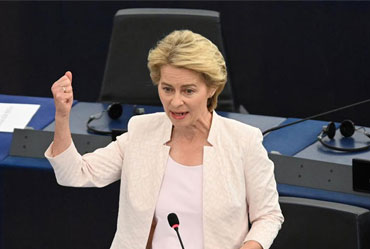 Ursula Von Der Leyen is 1st Female Commission Chie