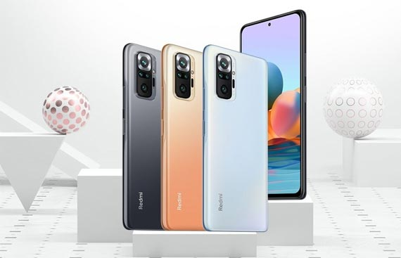Redmi Note 10 Series with quad rear cameras launched