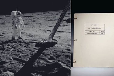 Artefacts from 1st Moon Missions to go on Auction