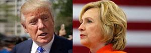 Clinton-Trump Race Narrows, Says Poll