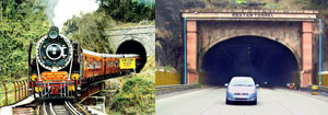 10 Longest Rail and Road Tunnels in India