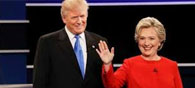 Clinton Ahead Of Trump After First Debate: Poll