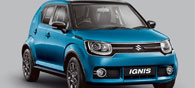 Suzuki Launch Premium Urban Compact Vehicle Ignis