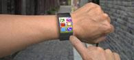 Smartwatch Prototype To Use Wrist As Joystick