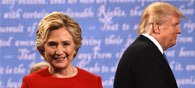 Clinton Holds Narrow 4-Point Lead Over Trump