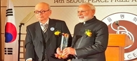 PM Modi Dedicates his Seoul Peace Prize