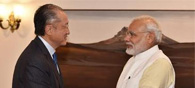 Jim Yong Meets Modi, Discusses Nutrition