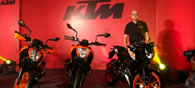 KTM Launches Three New BS-IV Variants-Duke