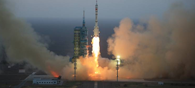 China's Space Lab Launches Micro Satellite