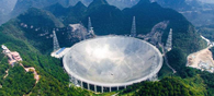 World's Largest Radio Telescope in China