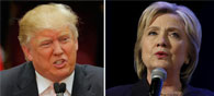 Clinton Trump Tied In 13 Battle Ground States Poll
