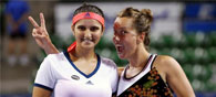 Sania-Barbora Win Toray Pan Pacific Open