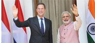 India, Netherlands On Same Page On Global Issues