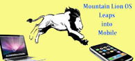Mountain Lion OS for Mac Leaps into Mobile