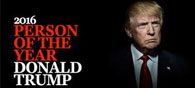 Trump is Time Magazine's Person of the Year 2016