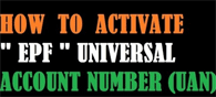Universal Account Number: Activation Process