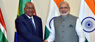 Modi Seeks South Africa's Support For NSG