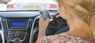Young Women Use Cellphone More While Driving