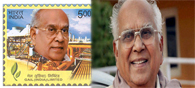 Now U.S. Postage Stamp on Late Nageswara Rao