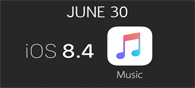 Apple to Launch iOS 8.4 And Beats 1 On June 30