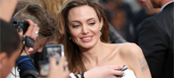 Angelina Makes First Appearance Post Mastectomy