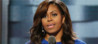 Michelle Obama Endorses Clinton At Convention
