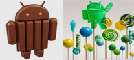 Lollipop Far Advanced Than Kitkat?