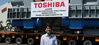 Toshiba JSW Ships Its India-Made Steam Turbine