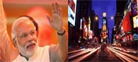 Modi's Speech To Be Beamed Live At Times Square