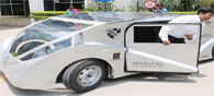 Tata And Manipal Team Unveil New Solar Car