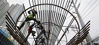 India's Core Industries' Output Rises 6.4 Pct