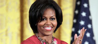 Indian Designers Picture Michelle Obama